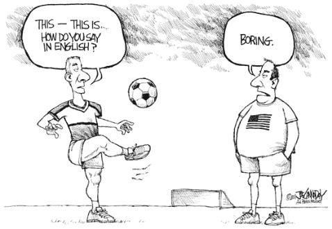 The American people vs. the game of soccer (or football