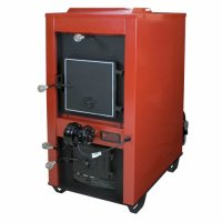 US Stove Company Wood/Coal Furnace with Draft Kit  1400 ...