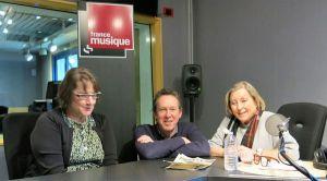 Géraldine Prutner, Benoît Duteurtre & Sylvie Février , studio 132, 25 février 2017
