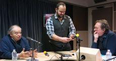 Jean-Pierre Bourtayre, Pierrick Charles et Benoît Duteurtre , studio 131, 18 février 2017