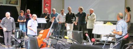 Marcel Azzola 90 ans & Friends, studio 105, 24 juin 2017