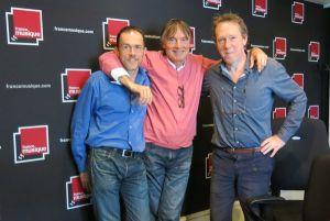 Martin Pénet, Christian Bonneau & Benoît Duteurtre, studio 141, 24 septembre 2016