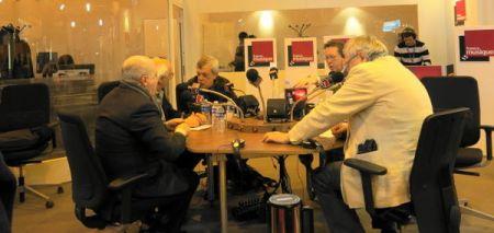 Salon du livre de Paris, Serge Elhaïk, Jean-Louis Mingalon, José Muñoz, Benoît Duteurtre & Michel Plisson, 22 mars 2014