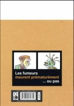 Benoît Duteurtre, La petite fille et la cigarette en BD par Sylvain Moizie, édition La boîte à bulles, 14 septembre 2016, Verso
