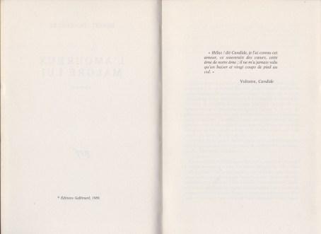 Benoît Duteurtre - L'amoureux malgre lui - page 6 et 7