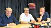 Studio 141... Serge Elhaïk, Jean-Christophe Keck & Benoît Duteurtre