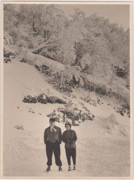 Rosemonde et Albert en 1947
