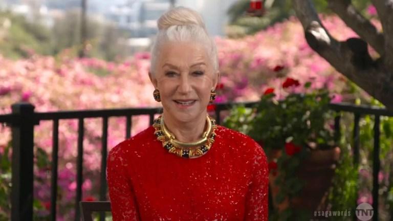 Dame Helen Mirren Nevada'da bir ayı ile 'bir parça buluşma' yaptığını açıkladı