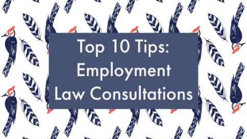 How to prepare for employment law consultation