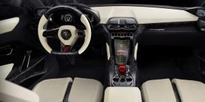 Lamborghini Urus SUV concepto del interior
