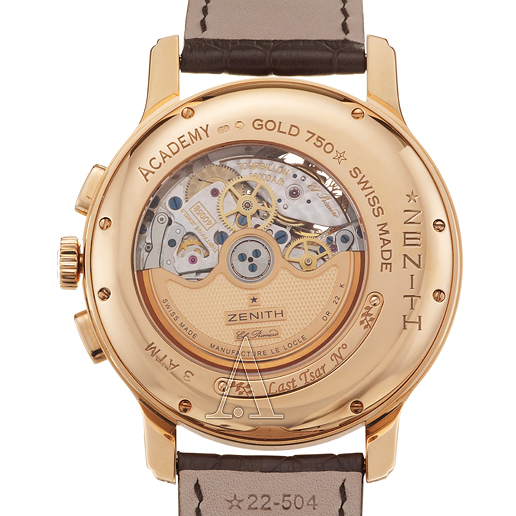 Zenith Academy Last Tsar Tourbillon Chronograph Men's Watch