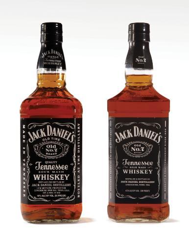 Jack Daniel's Tennessee whiskey renovó su imagen de botella y etiqueta disponible