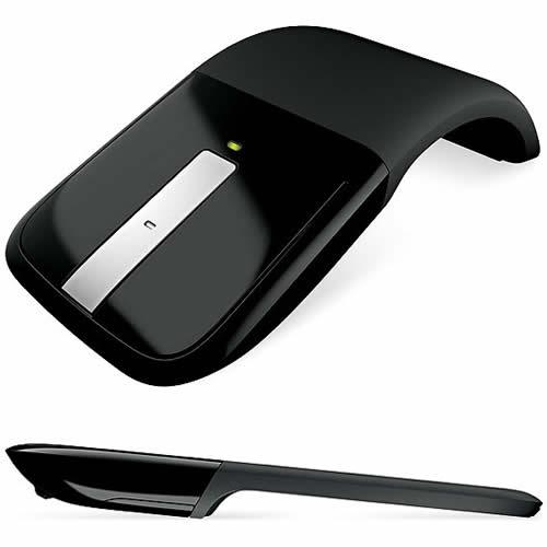 Diseño flexible (curvo o plano) , Desplazamiento táctil y Confortable para ambas manos