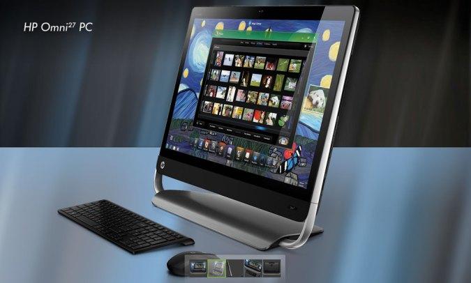 HP Omni27 con la Segunda Generación del Procesador Intel® Core i7-2600