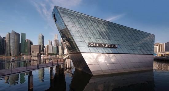 Louis Vuitton, arquitectura de lujo en Singapur