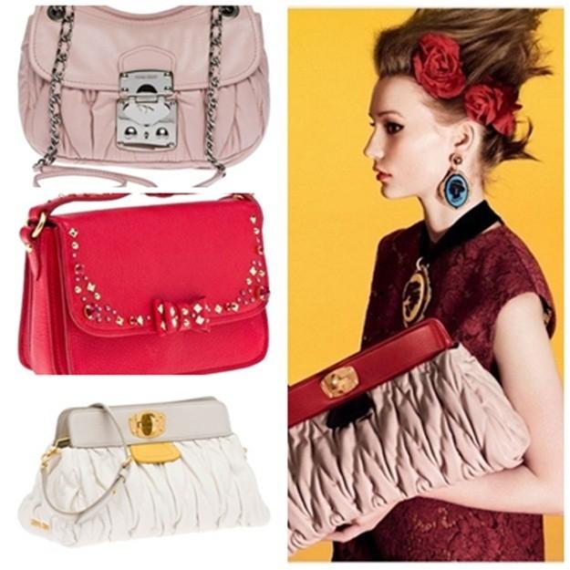 Miu Miu colección de bolsos primavera/verano 2012