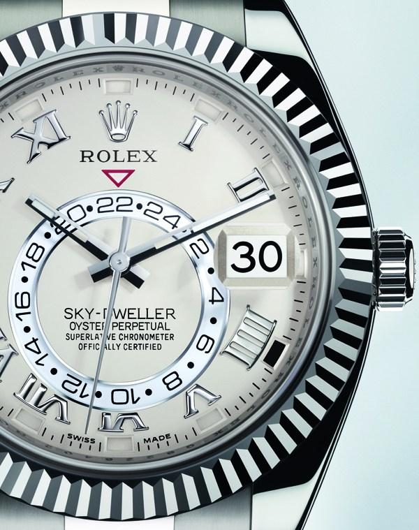 Sky-Dweller con doble huso horario y calendario anual