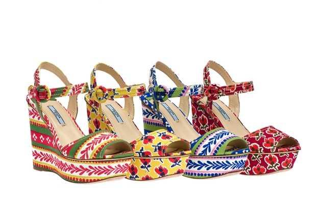 Coleccion calzado 2012 Le Voyageur, alta costura en Prada