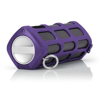 Con su Estructura resistente a prueba de golpes y salpicaduras, la transmisión inalámbrica Bluetooth y hasta ocho horas de alimentación autónoma con batería, es el compañero perfecto para salir de casa.