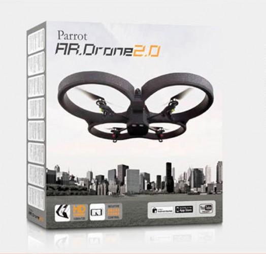 Su cámara HD, que permite grabar vídeos y tomar fotografías desde el cielo