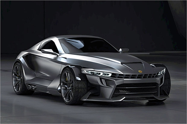 New Aspid GT-21 Invictus Supercar
