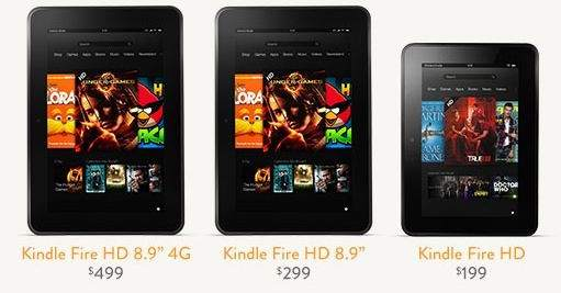 Kindle Fire HD - Los nuevos Kindle Fire HD AMAZON.COM