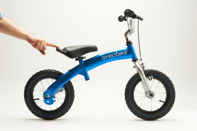 Gyrobike, los niños nunca tuvieron tan fácil aprender a ir en bici