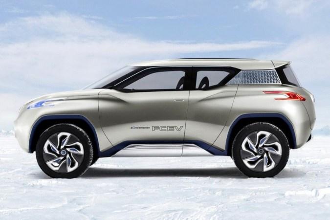 Nissan TeRRa Electric SUV Concept