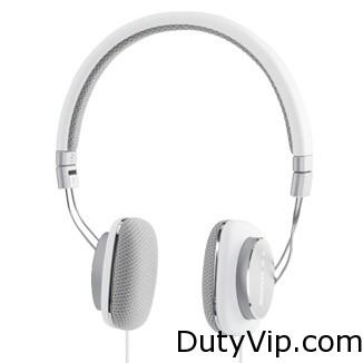 Estos auriculares de alta definición son el resultado de la combinación de un controlador dinámico de 30 mm y de diafragmas de laminados amortiguados de Mylar con almohadillas de tela acústica.