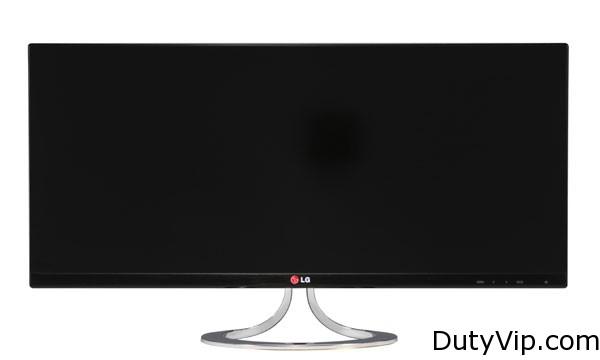 El frente del monitor wide LG EA93