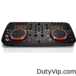 Los entusiastas de la música que desean comenzar a mezclar sus temas favoritos con su MacBook y un elegante componente del kit de DJ.