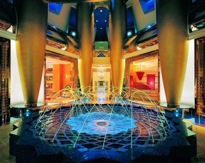 Uno de los lobby mas lujosos del mundo