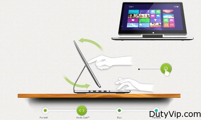 Acer Aspire R7, un portátil muy interesante