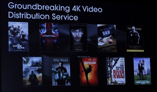 Asi será el servicio online de Sony con peliculas remasterizadas en 4K