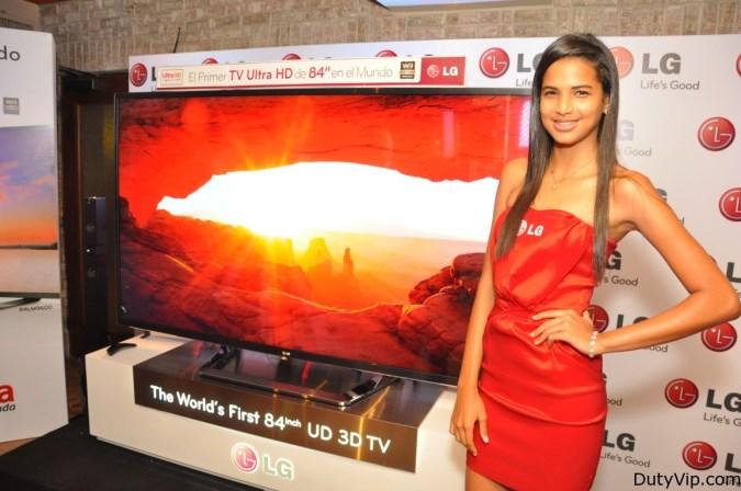 """LG  LED 84"""" LG 84 LM9600 Smart TV Ultra HD 3D"""