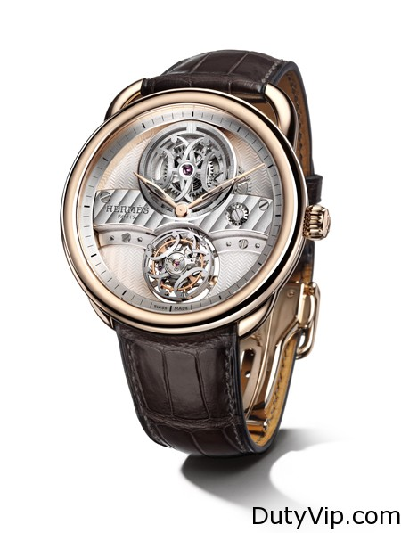Hermès Arceau Lift flying tourbillon