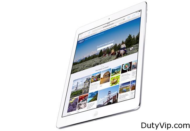 iPad Air es el más liviano y potente de Apple