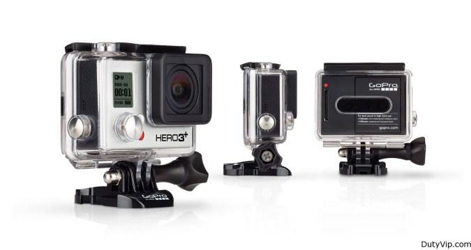 HERO3+ Black Edition   El producto GoPro más avanzado hasta la fecha.   Ofrece una resolución de vídeo de hasta 4K, fotos de 12 MP hasta 30 cuadros por segundo, Wi-Fi integrado y modos de luz baja automático y SuperView™. Resistente al agua hasta