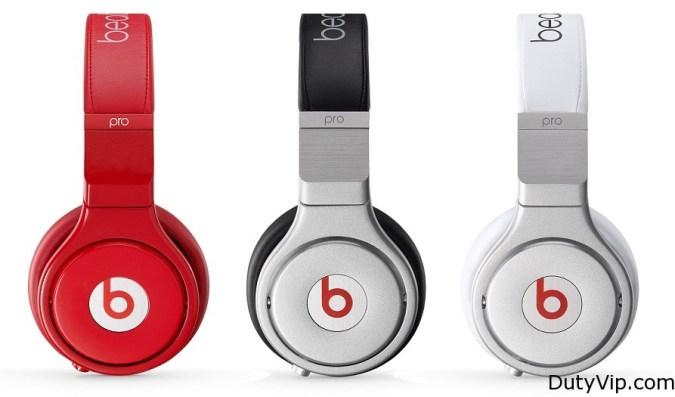 Beats Pro Plata Blanco Rojo Beats By Dr Dre