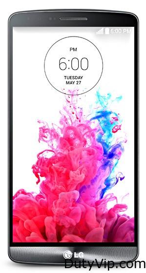 LG G3 con bateria de 3.000mAh con memoria de 32GB y cámara de 13 megapixeles con estabilización óptica
