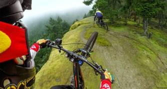 GoPro Hero4 Session genial para montar en una bicicleta