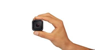 GoPro Hero4 Session es la más pequeña y liviana de la familia de cámaras