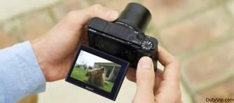 Fácil acceso a las funciones Sony Cyber-Shot RX100 IV