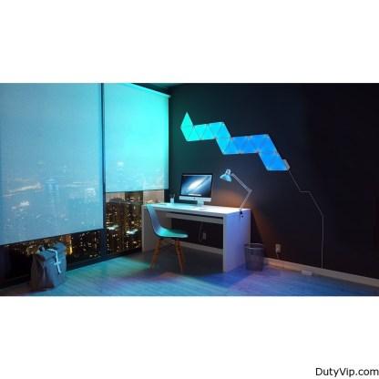 Sistema de iluminación inteligente Aurora de Nanoleaf