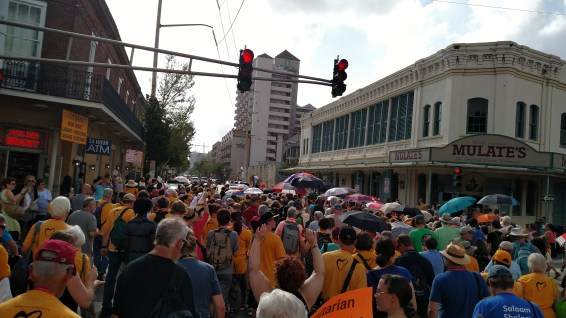 ...and we filled the streets!