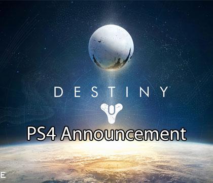 Destiny PS4 – Official Announcement