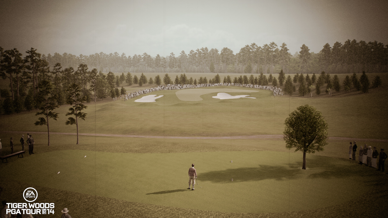 Tiger Woods PGA Tour 14 Feature Augusta National 1934 Layout