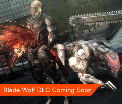 Blade Wolf DLC for MGRR Available May 14th