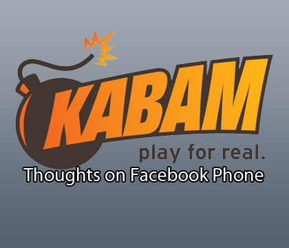 Kabam Comments on Facebook Home