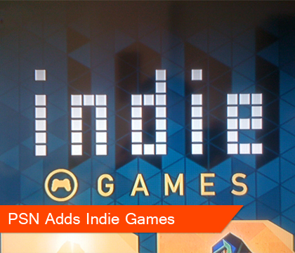 "PSN Adds ""Indie Games"" Category, RCR 50% OFF"